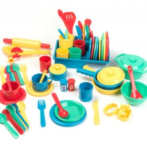 Play Food and Kitchen Set